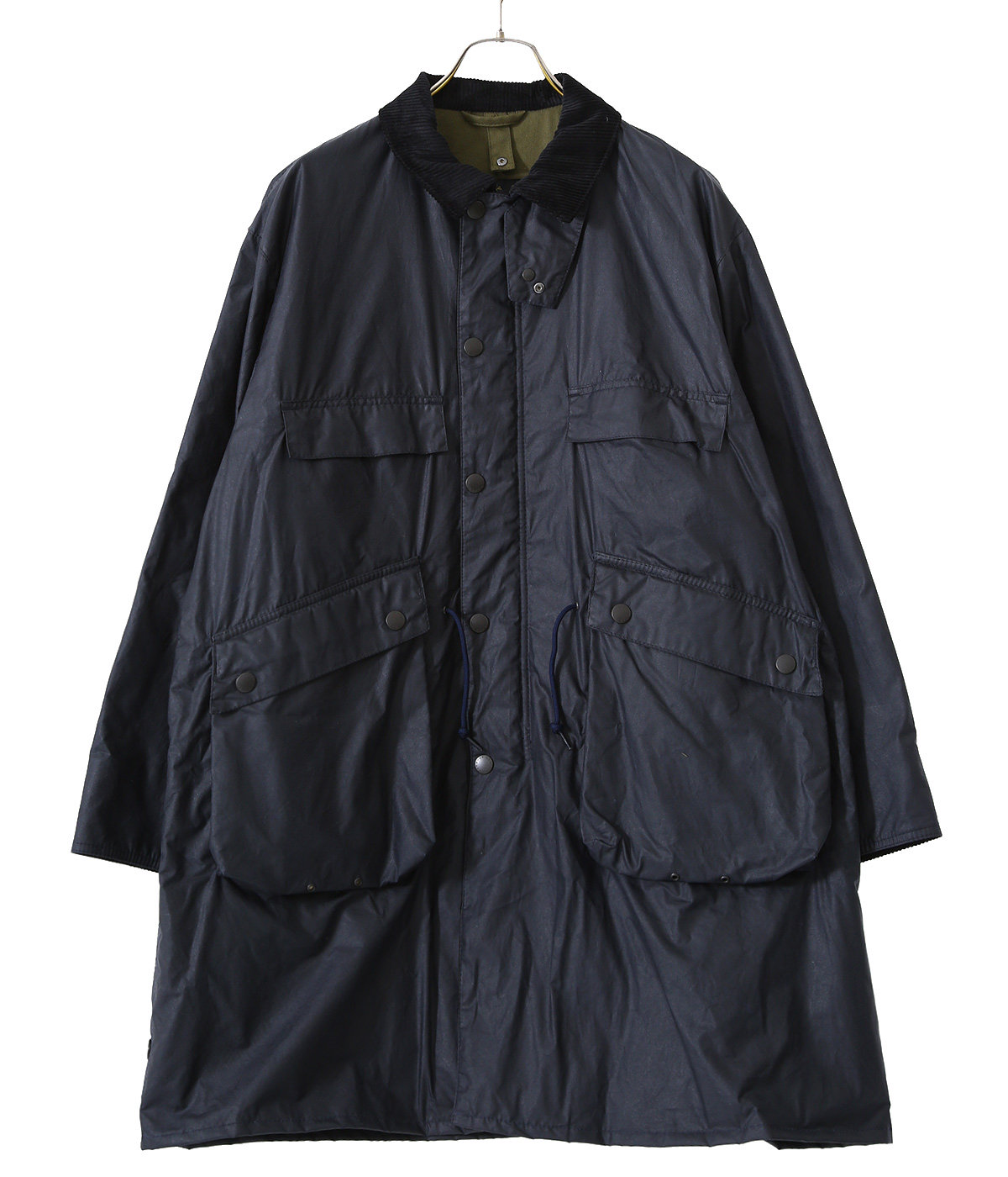 ×Barbour Stand Collar Traveller Coat