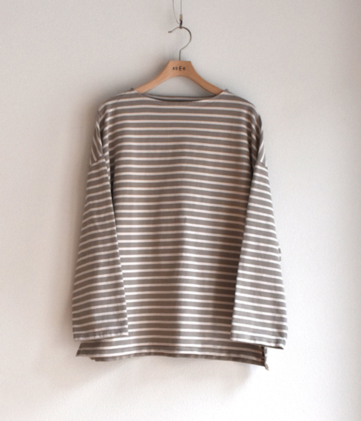 【予約】Suvin Boat neck Shirt