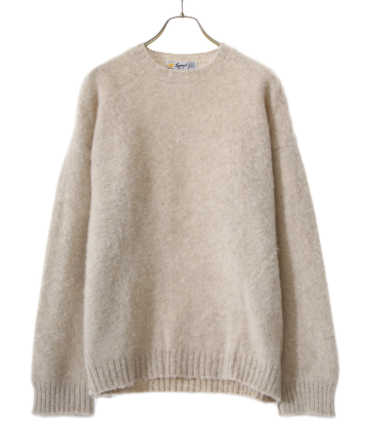 SIDE SEAM WIDE BODY CREWNECK SWEATER
