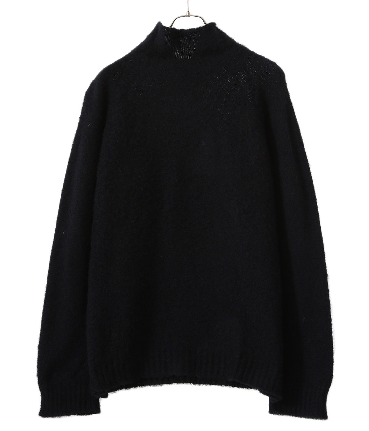 SIDE SEAM WIDE TURTLE NECK SWEATER