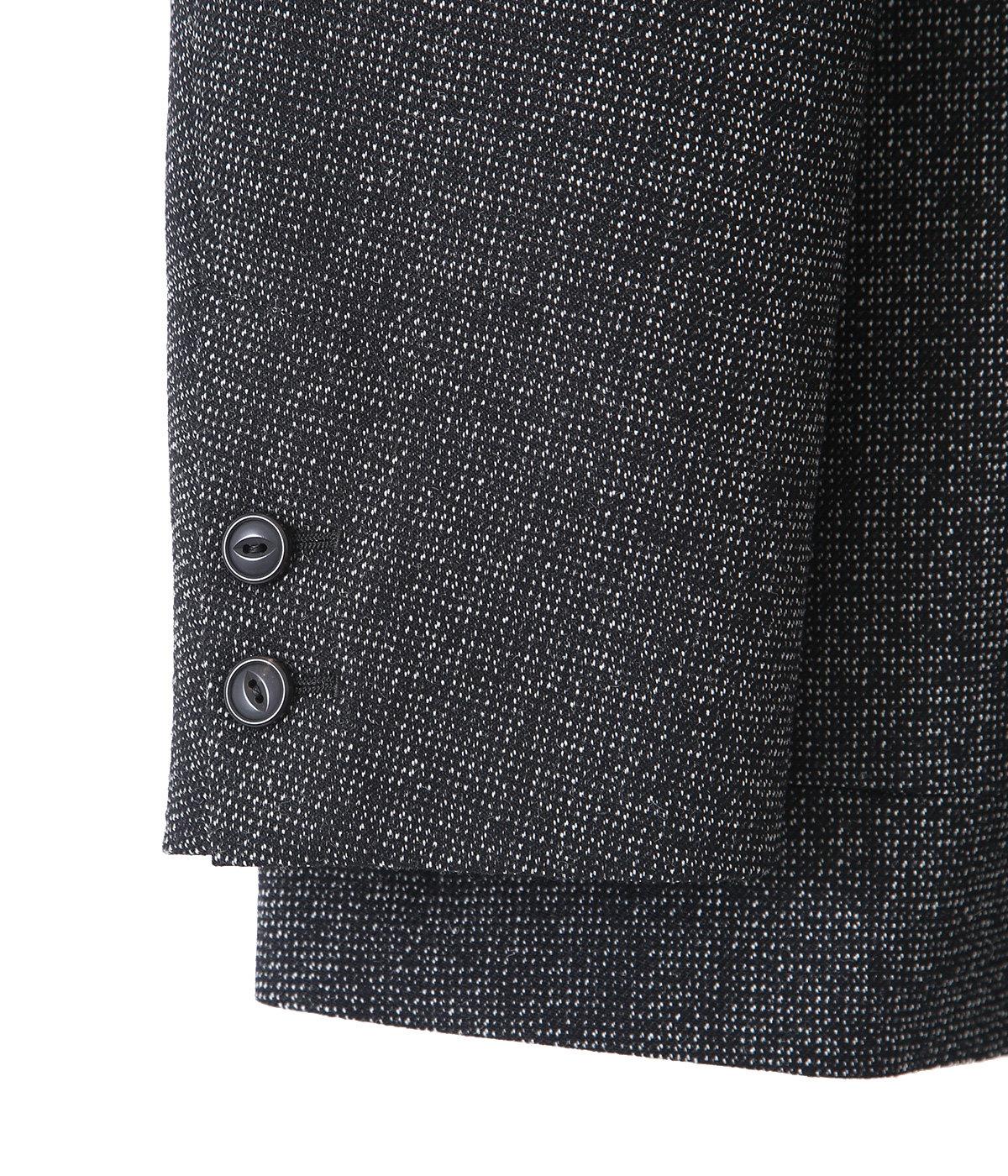 BLAZER -high count melange wool-