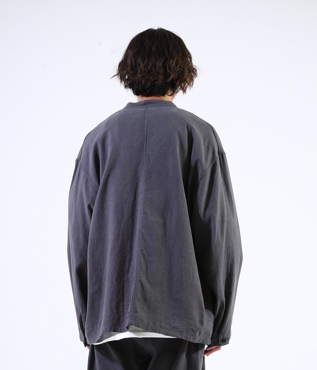 COVER ALL SHIRT - silk linen -