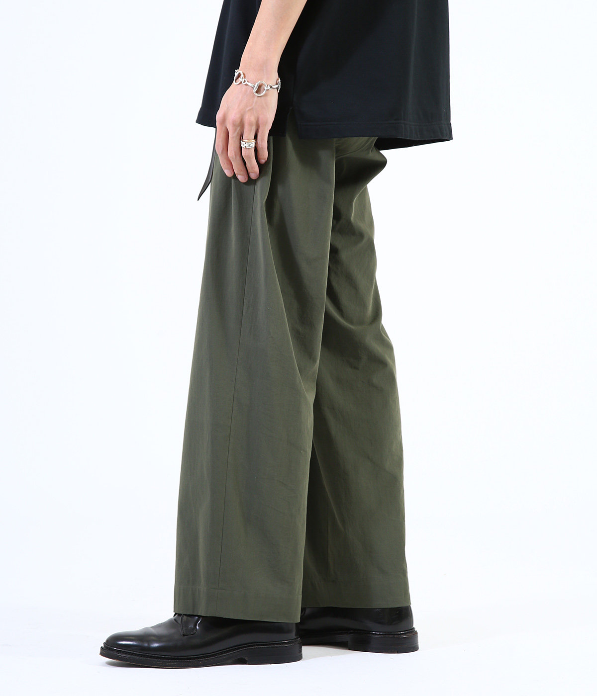 2TUCK STRAIGHT FIT EASY - 100/2 gv twill -