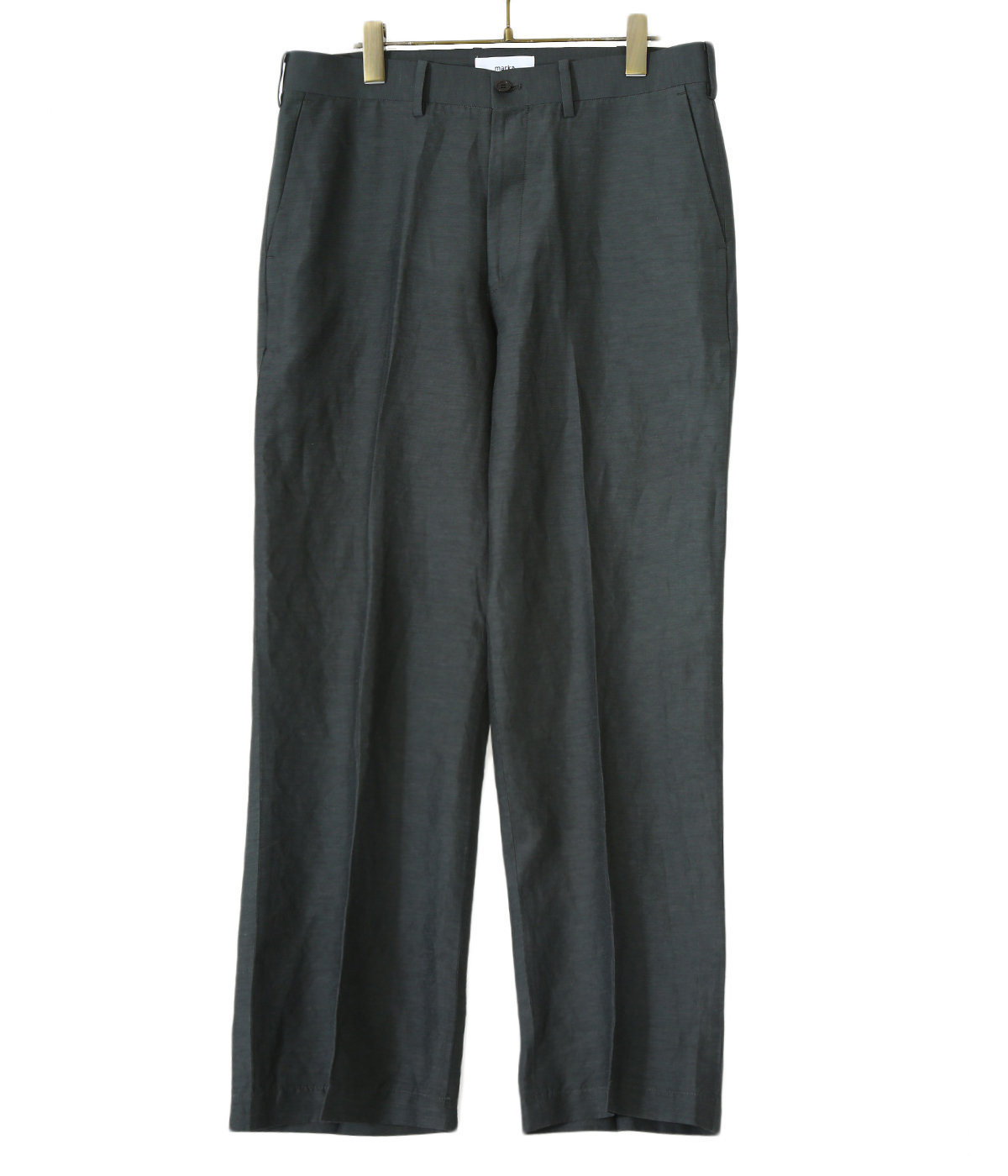【ONLY ARK】別注 STRAIGHT FIT TROUSERS - cu/li/co cloth -