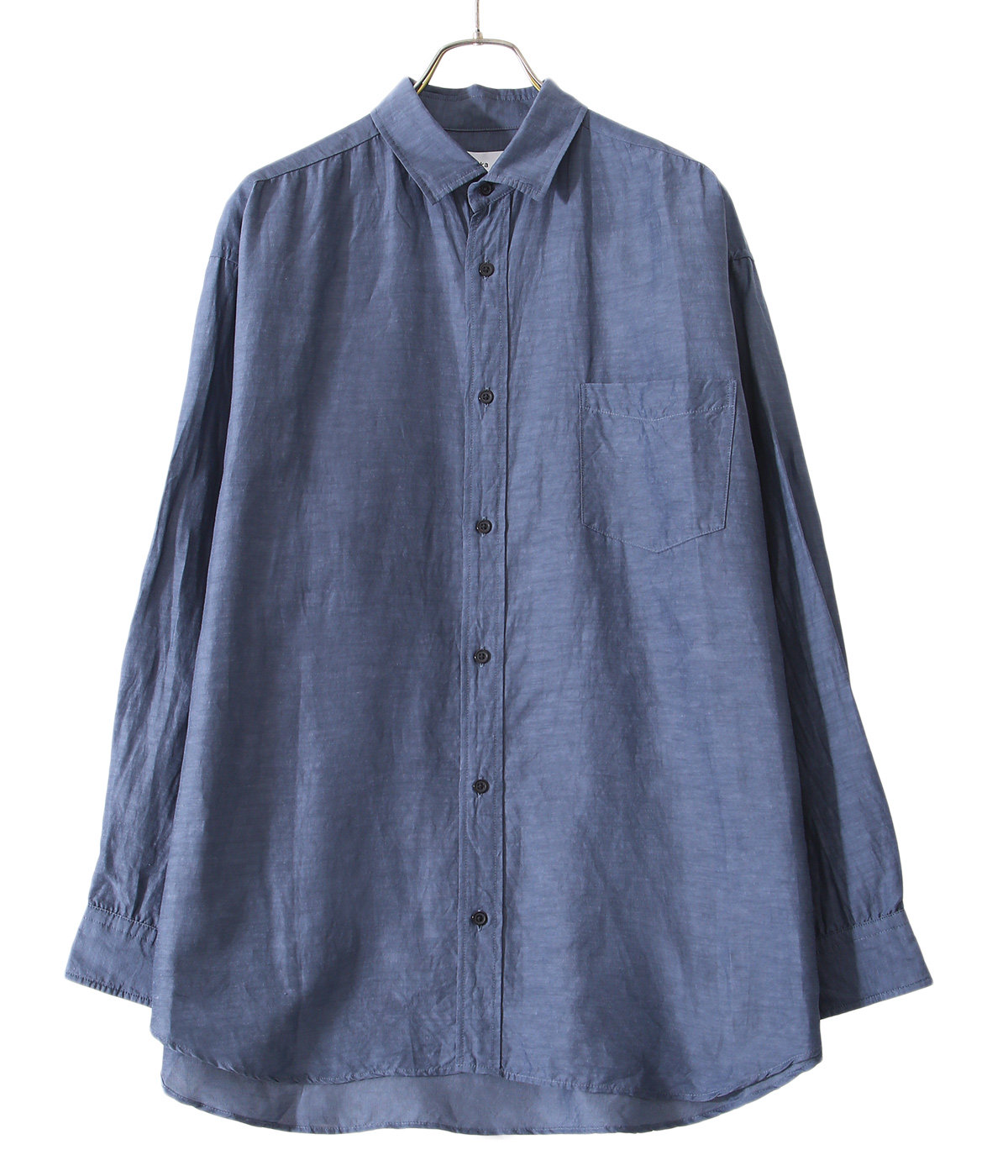 【ONLY ARK】別注 WIDE FIT SHIRT - cu/li/co cloth -