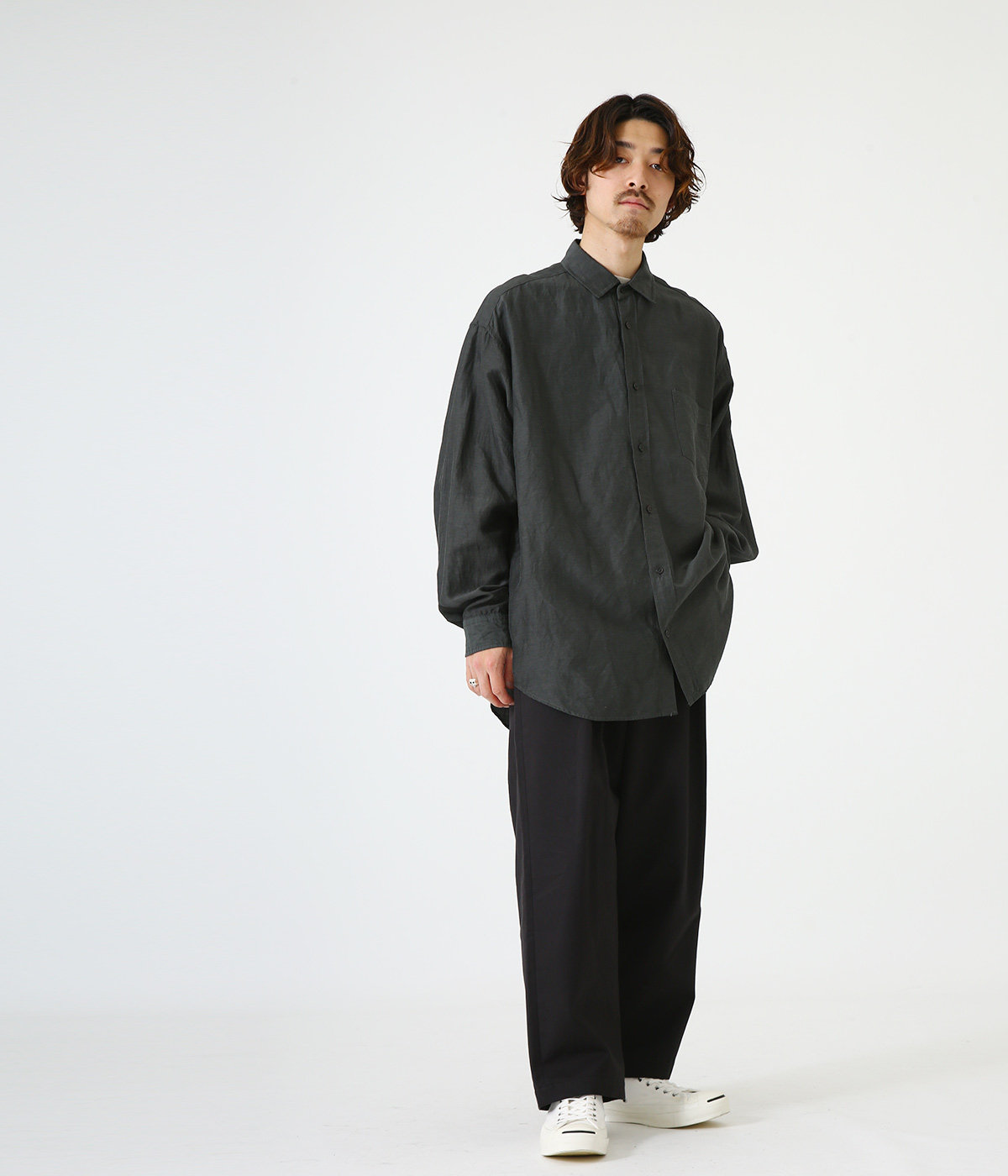 WIDE FIT SHIRT - cu/li/co cloth -