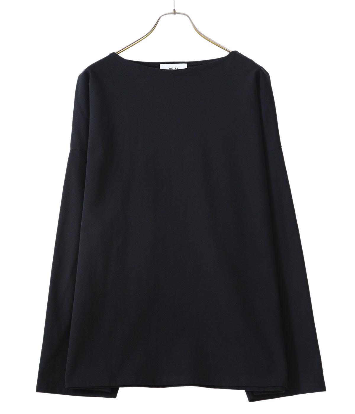 【予約】BASQUE SHIRT - organic cotton 30/2 knit -