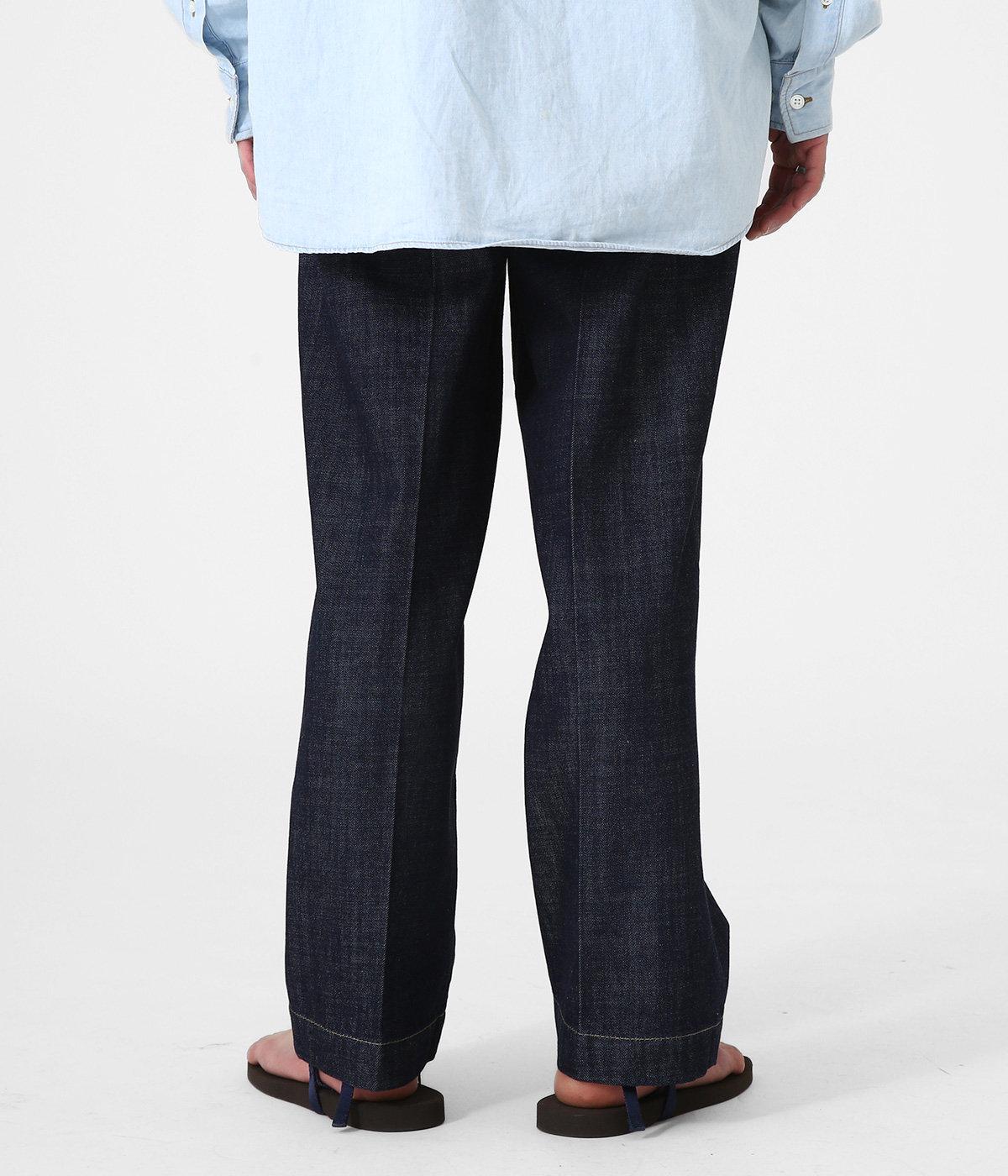 1TUCK JEANS - 10oz organic cotton denim -