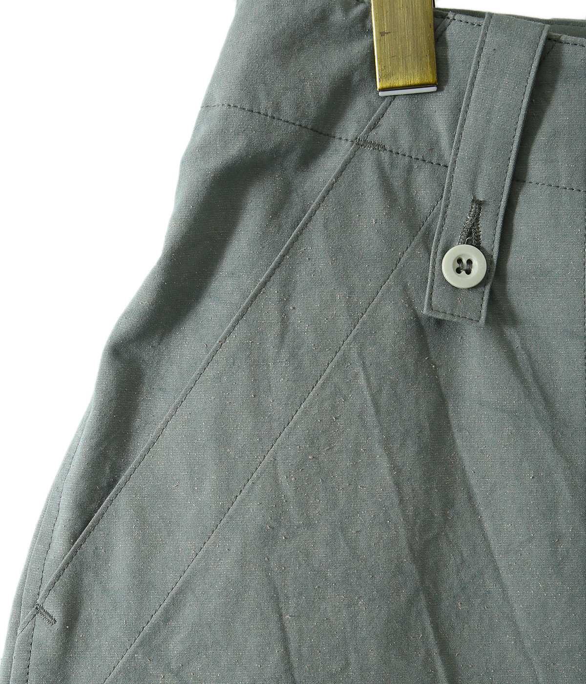 MILITARY SHORTS - organic cotton compact silk weather -