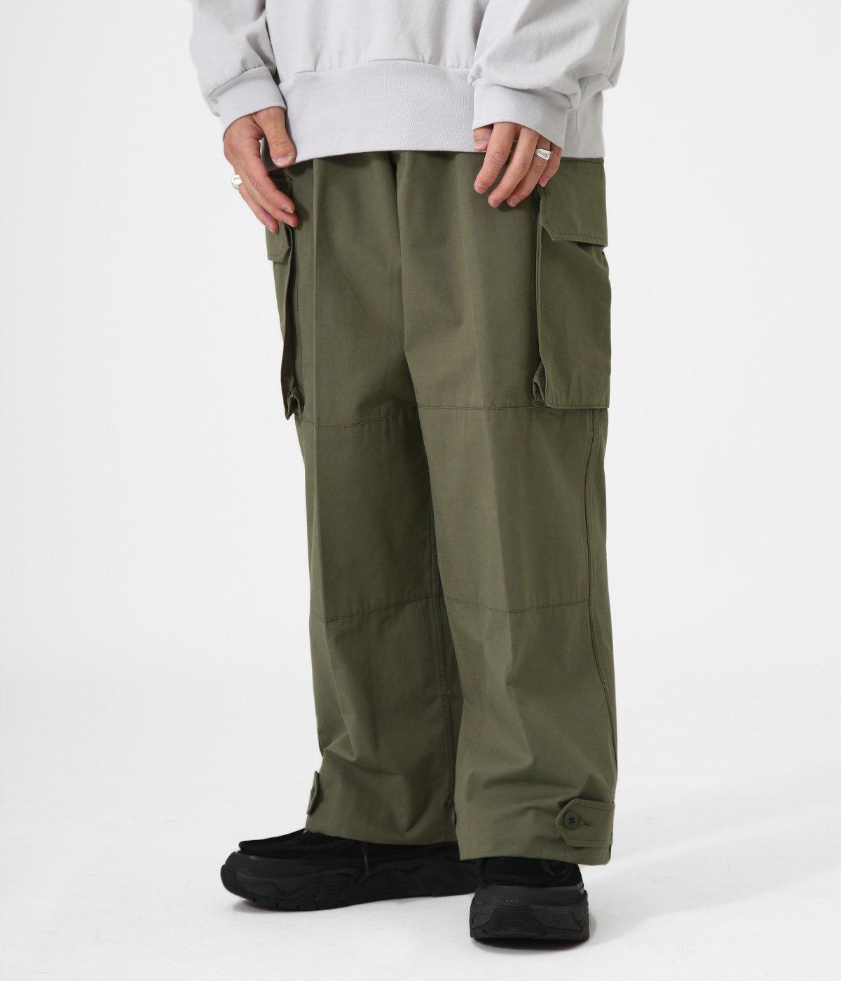 CARGO PANTS - organic cotton compact silk weather -