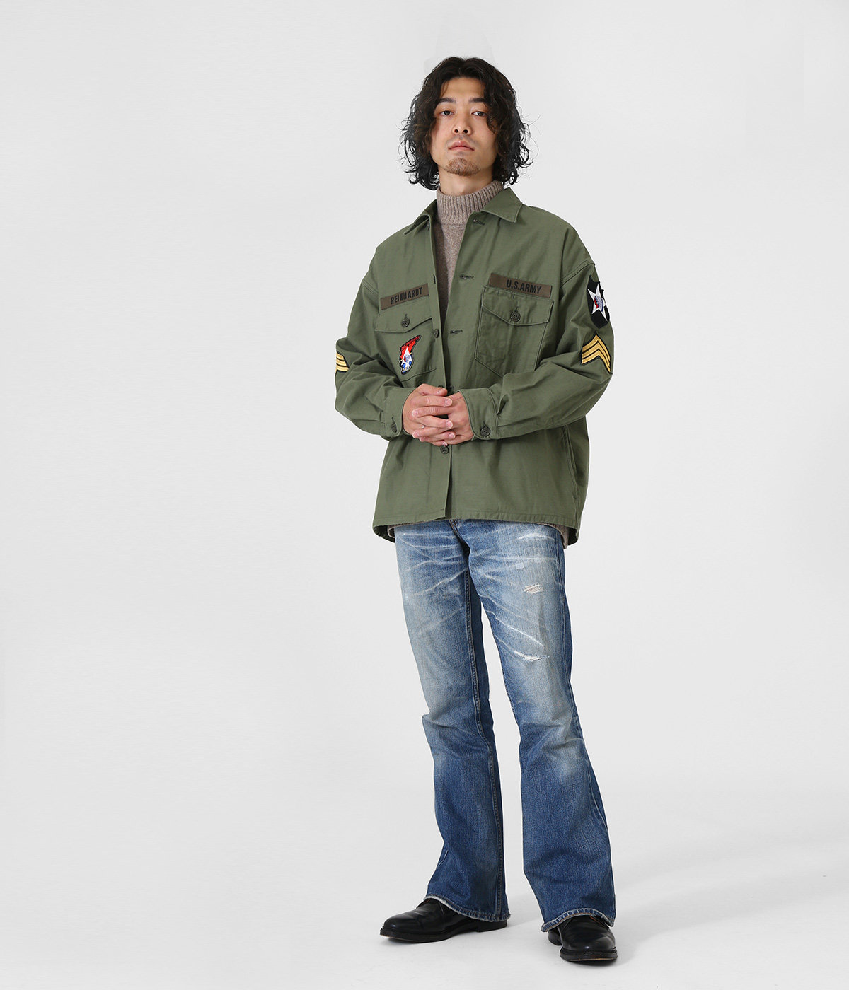 【ONLY ARK】別注 J.L. UTILITY SHIRT - ARKnets 25th anniversary MODEL -