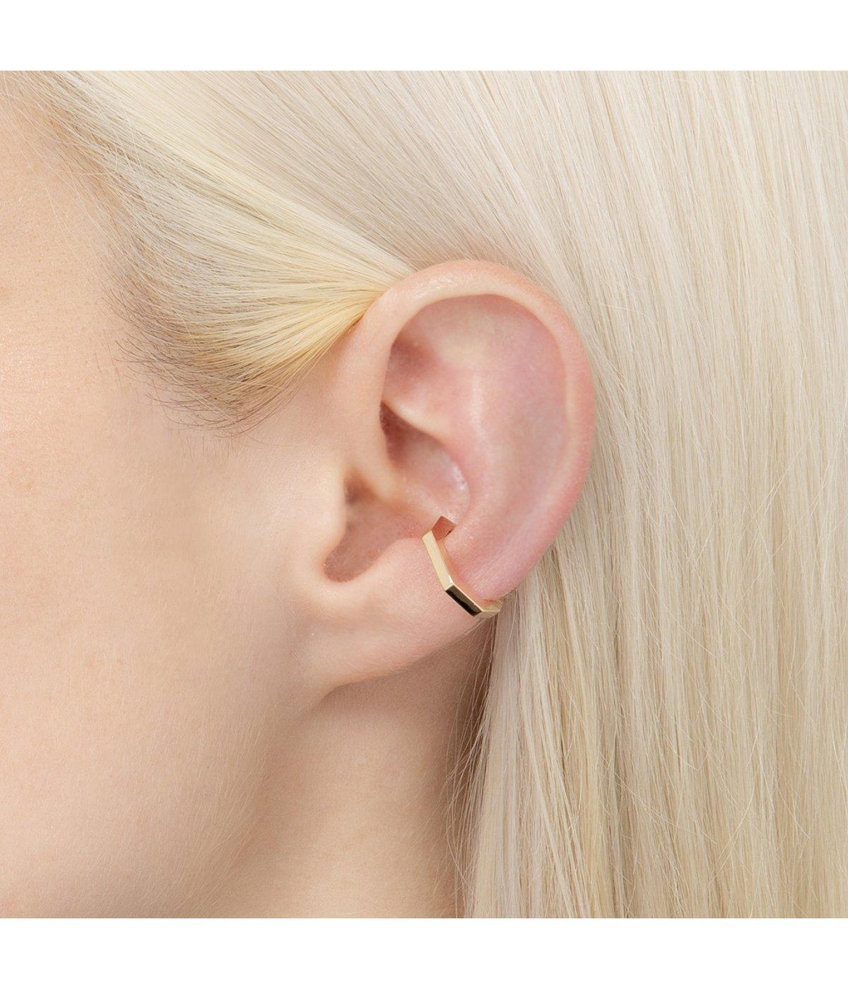 【レディース】Octagon Ear Cuff S(イヤー カフ)