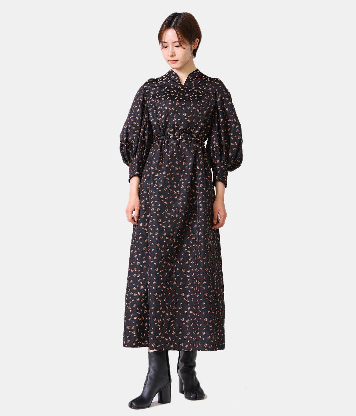【レディース】Osmanthus Motif Jacquard Dress