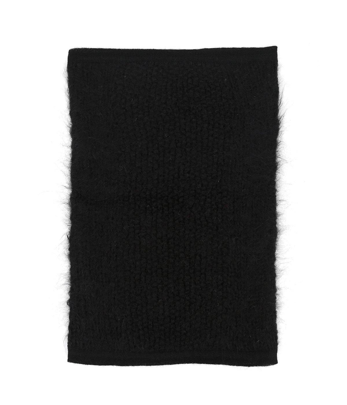 Hand-Knit Suri Alpaca Neck Gaiter