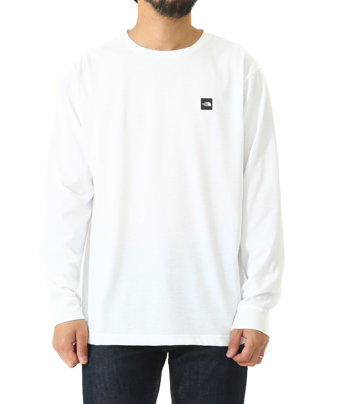 L/S Small Box Logo Tee