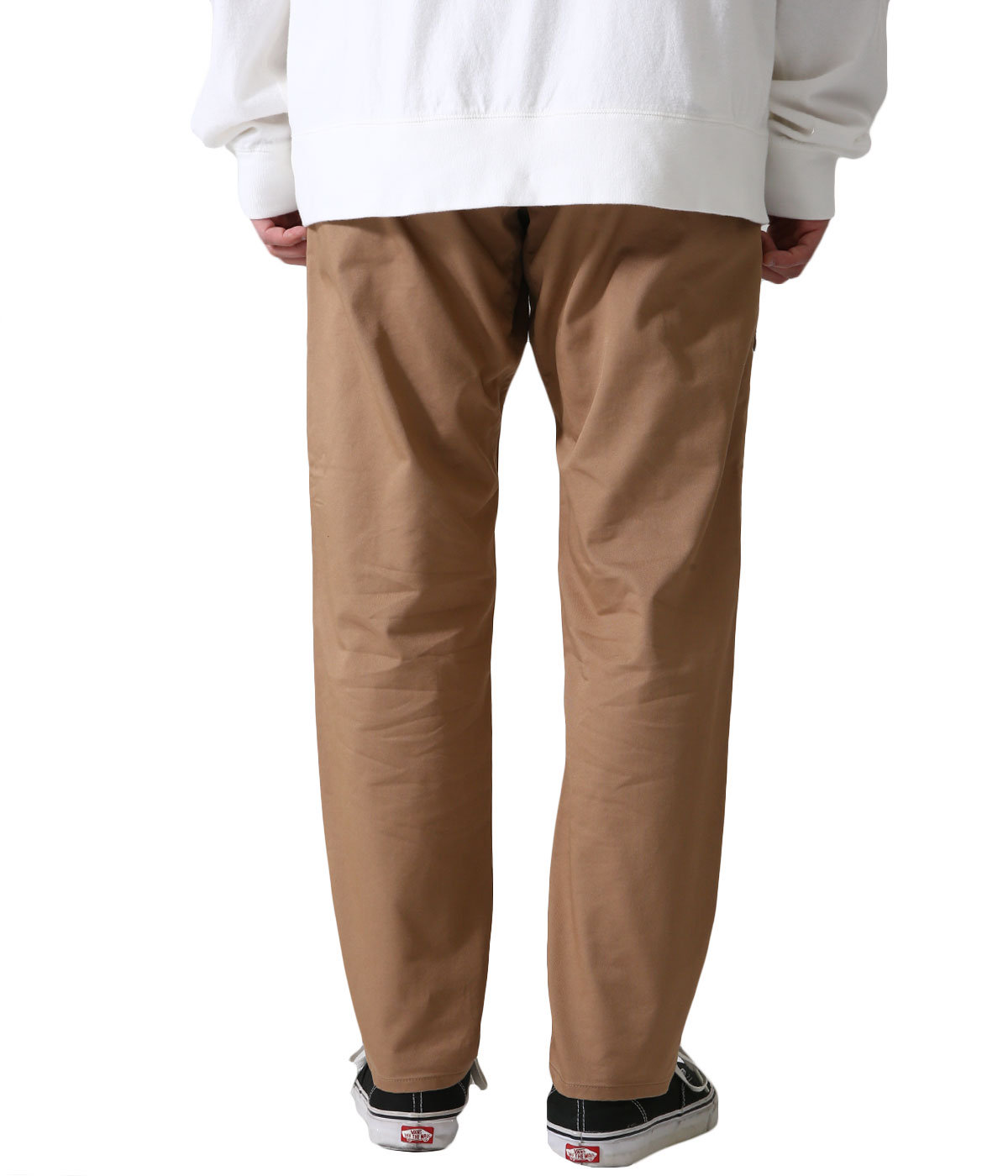 Stretch Twill Tapered Pants