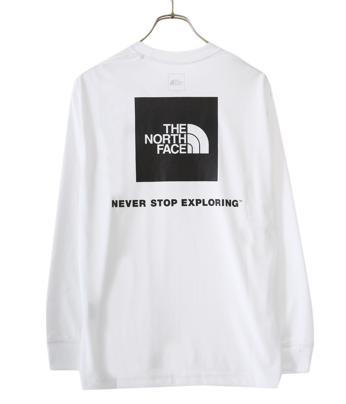 L/S Back Square Logo Tee