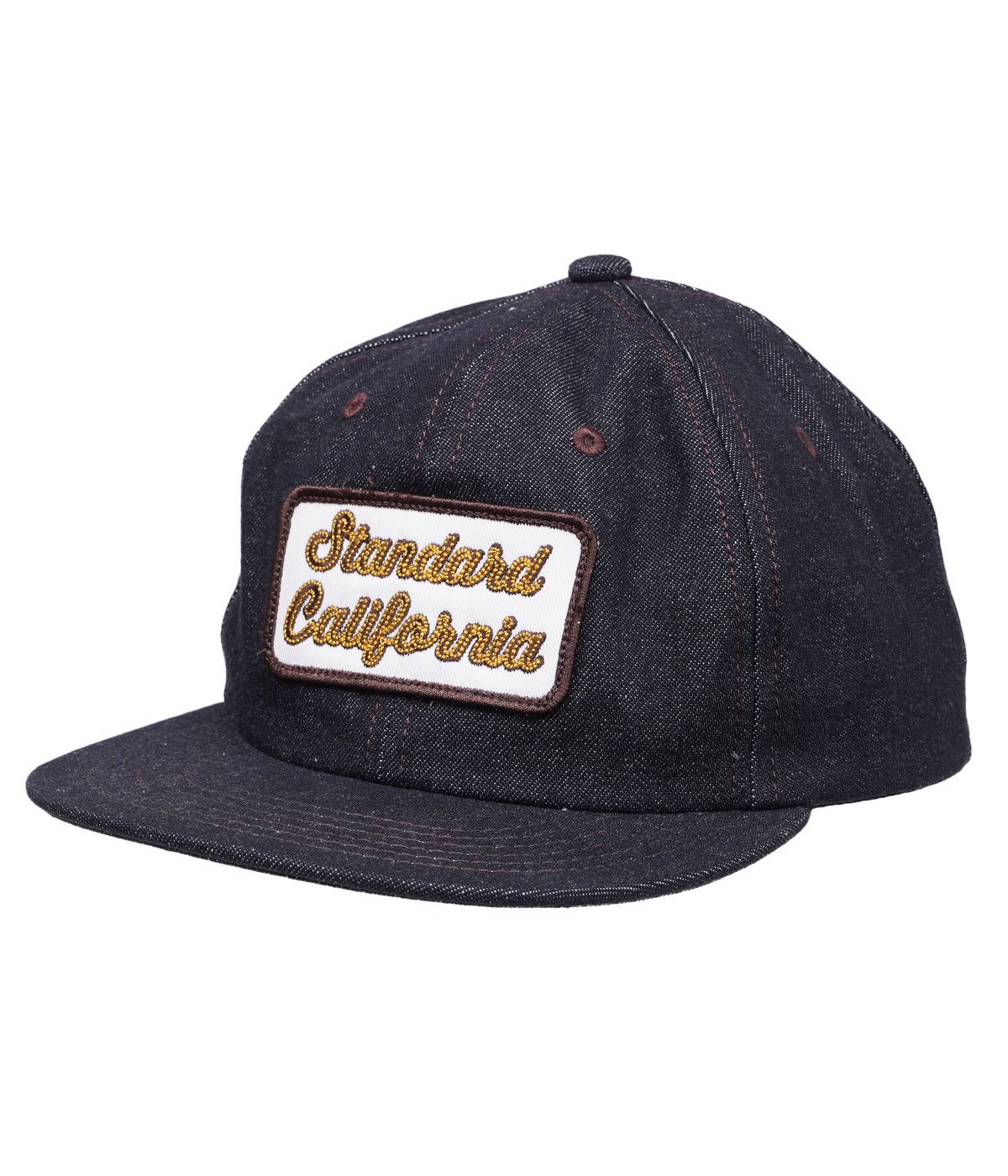 SD LOGO PATCH DENIM CAP