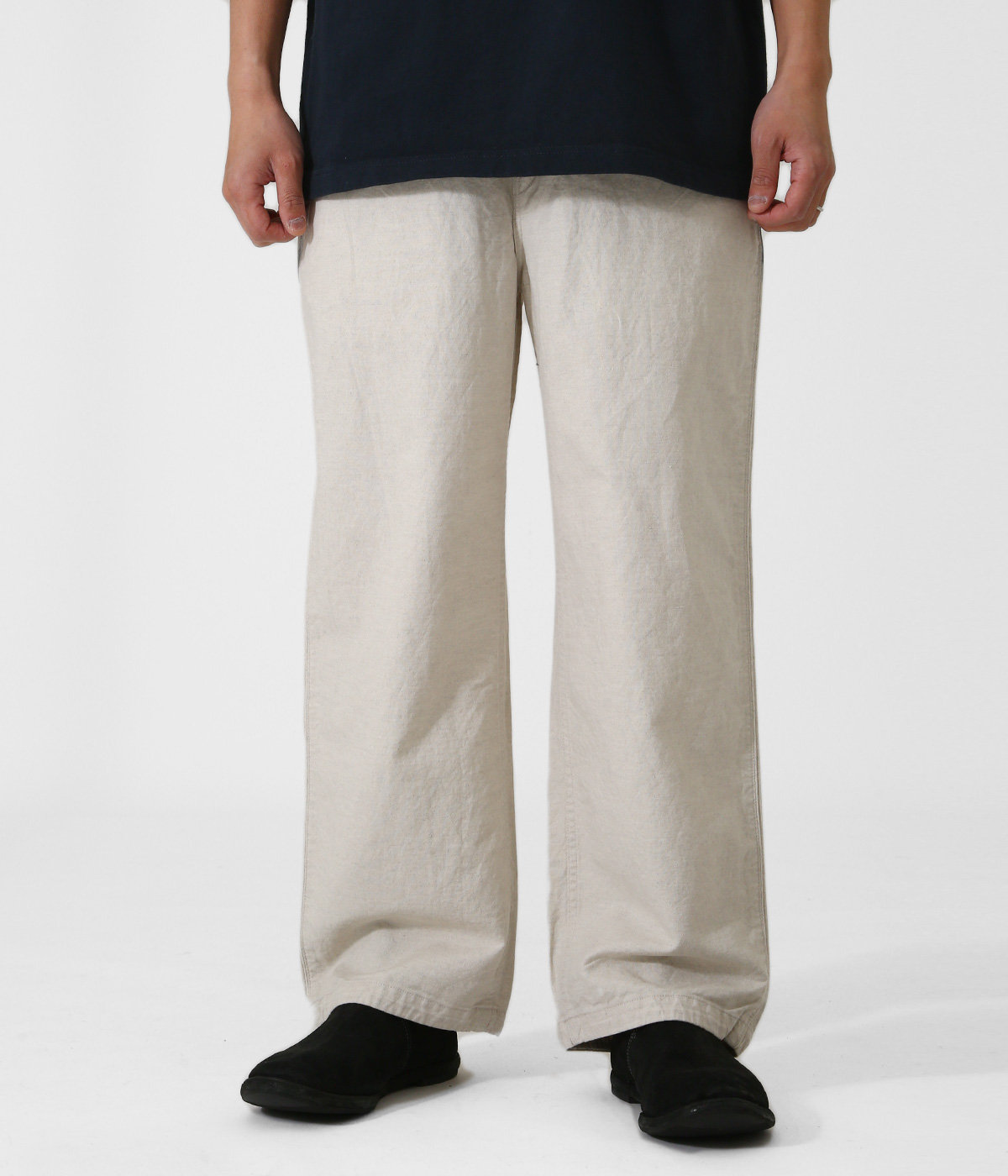 """BELLE EPOQUE"" LINEN CLASSIC PANTS"