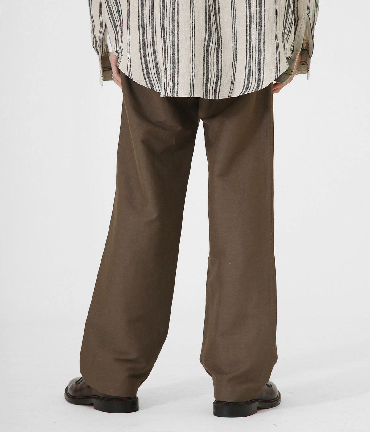 Easy Trousers -linen viscose stretch-