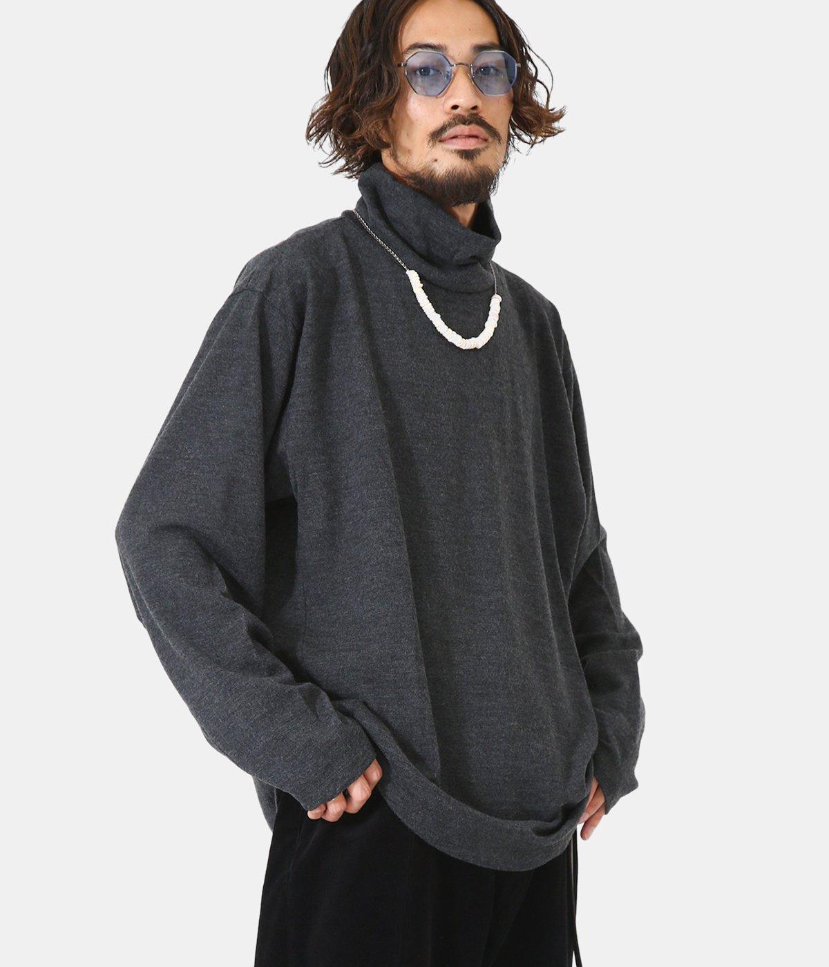 Wool Turtleneck LS T-shirt
