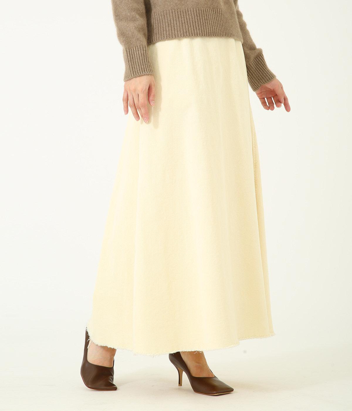 【レディース】コーデュロイスカート
