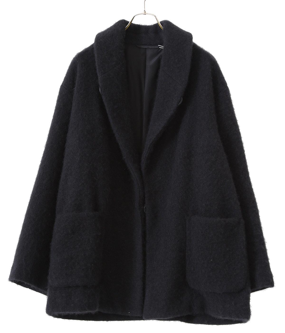 カシミヤ ショールカラー コート