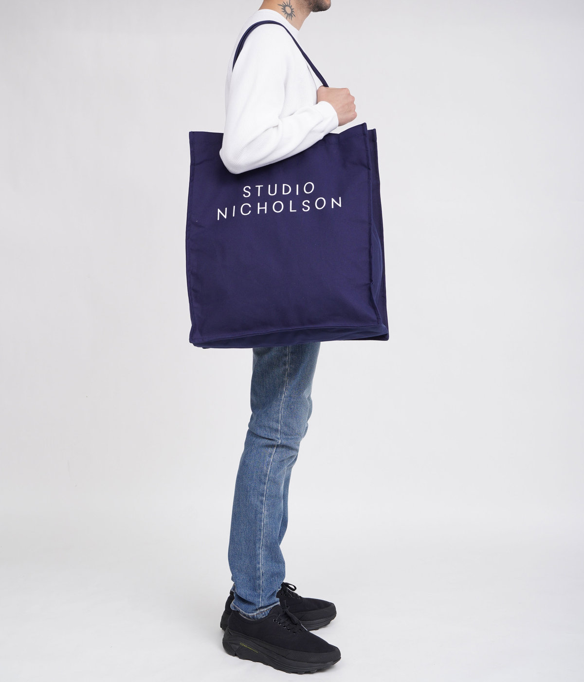 COTTON CANVS THE LARGE TOTE