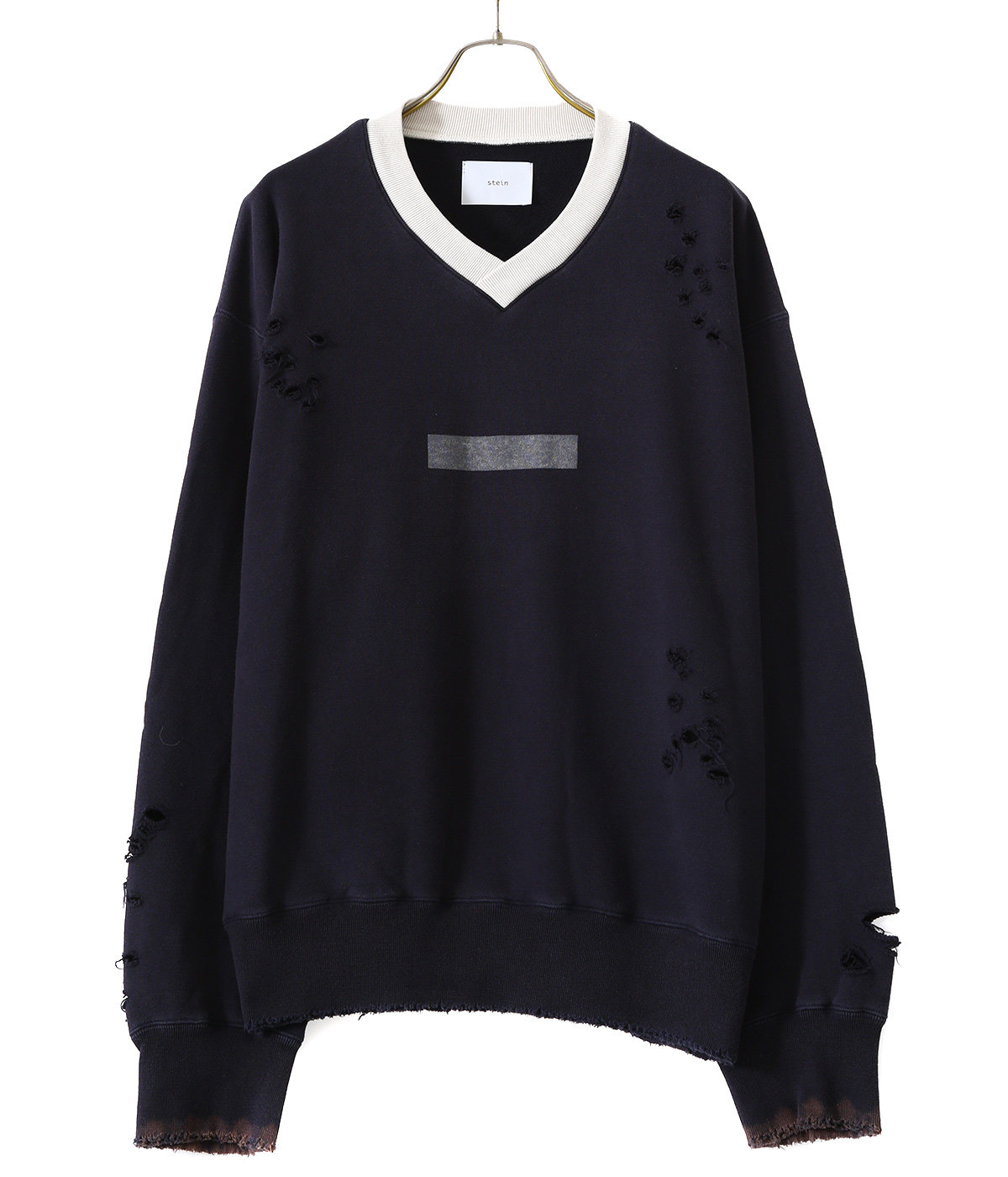ARCHIVE V NECK SWEAT LS