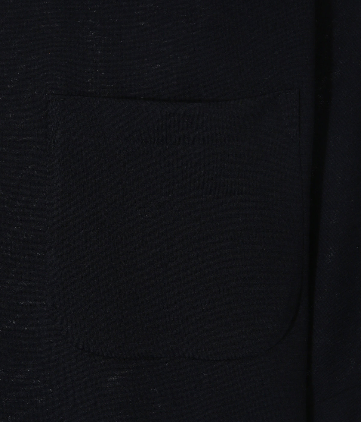 ウール天竺 半袖クルー