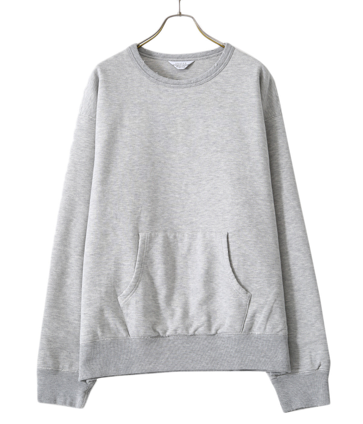 Crew neck sweat shirt