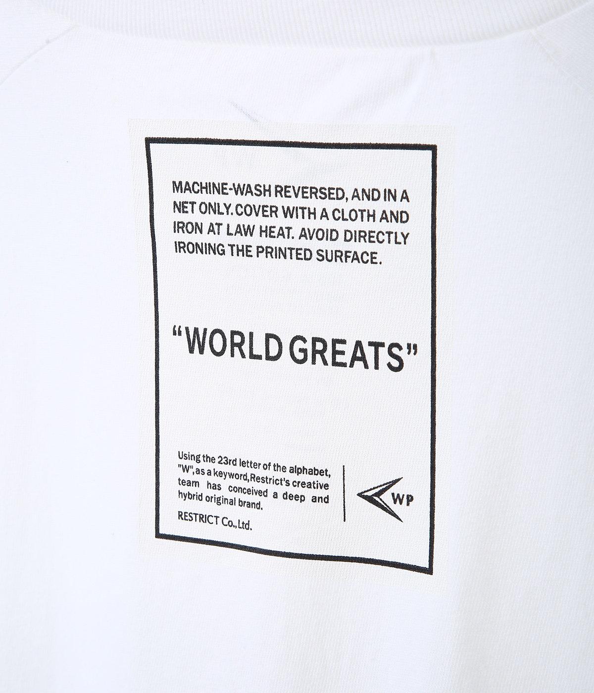 WORLD GREATS C BASEBALL T-SHIRTS