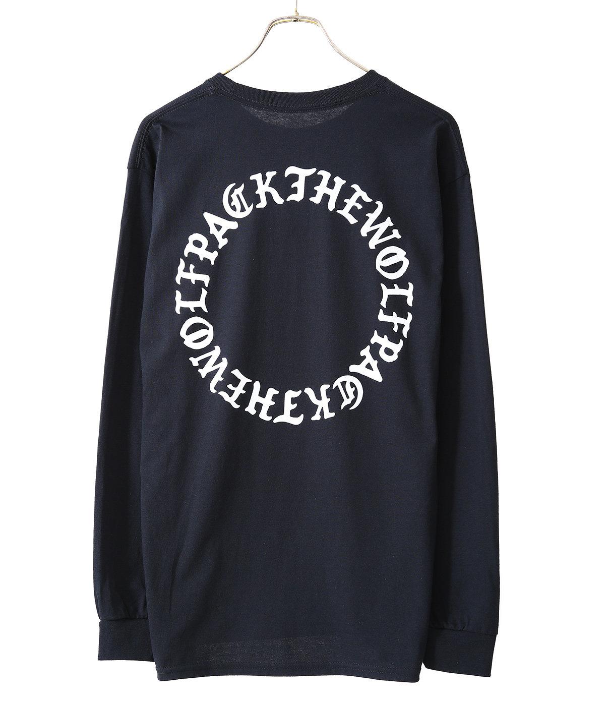 BLACK LETTER CIRCLE L/Tee