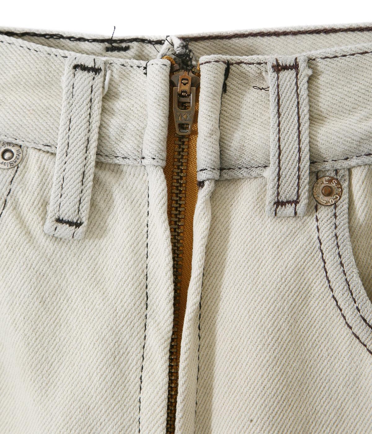 【予約】【レディース】別注circa make fringe denim pants