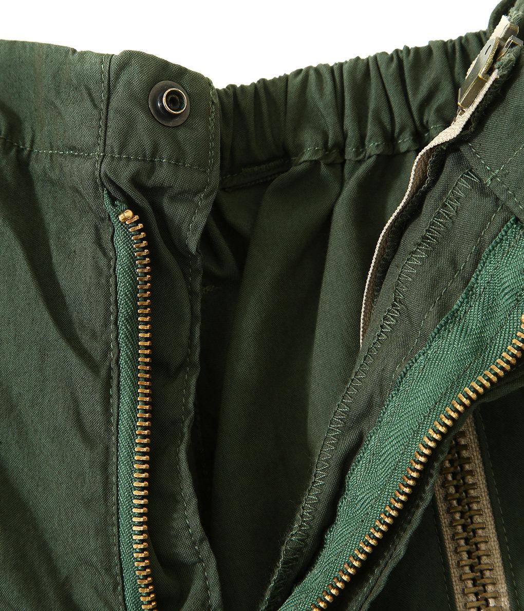 circa make front zip snowcamouflage pants