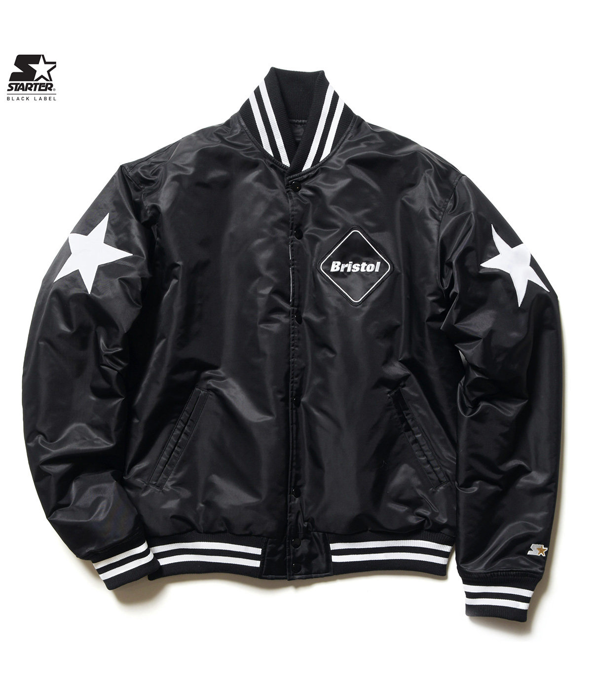 STARTER BLACK LABEL REVERSIBLE STADIUM JACKET