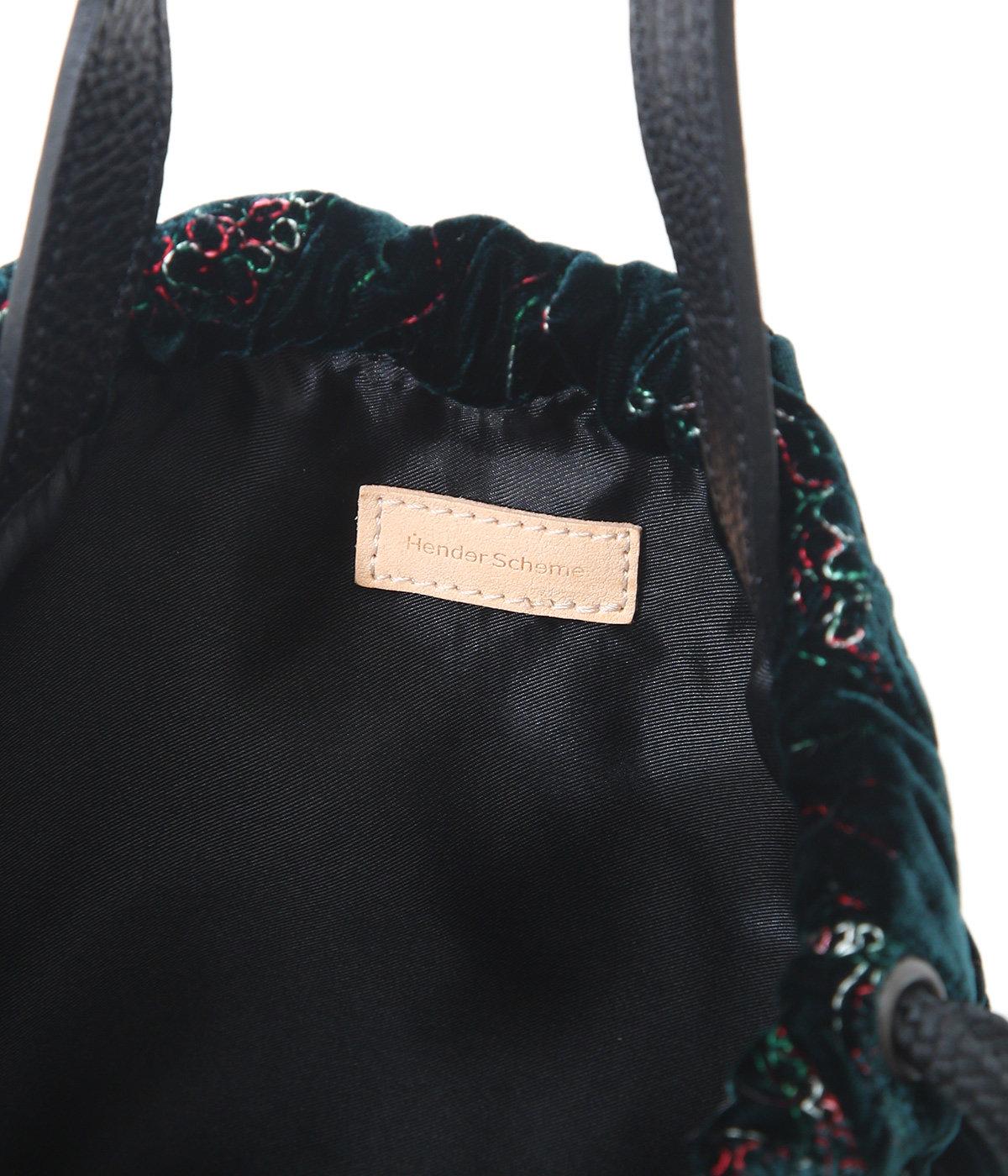 velvet quilt pouchsack