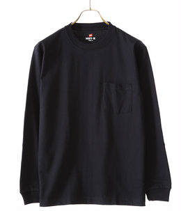 BEEFY LONG SLEEVE POCKET T