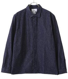 コンフォートシャツ リラックススクエア - denim -