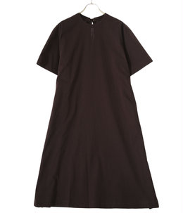 【予約】paper jersey back ribbon T-dress