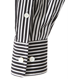 【予約】stripe river fishtail shirt dress