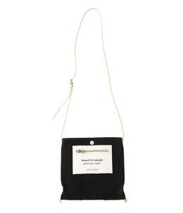 【予約】lining logo pocket mini shoulder bag