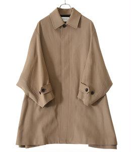 【予約】【レディース】c/w gabardine soutien collar coat