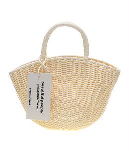 【予約】tube knitting basket S