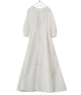 【予約】【レディース】palm beach cloth lace up dress