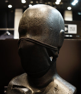 【予約】FACE COVERING MASK BLK
