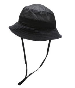 BLACK MESH HAT(あご紐付)