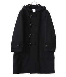 Natural cashmere duffle coat