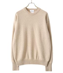 Golden cash cashmere crew knit
