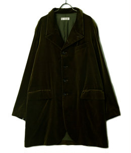 【予約】VELVETEEN LONG JACKET